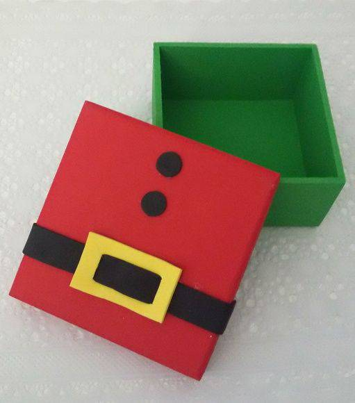 Christmas souvenir box