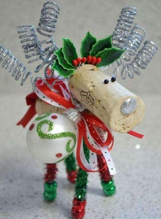 Christmas souvenir stopper doll