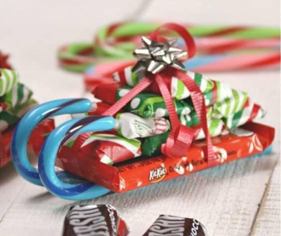 chocolate Christmas souvenir