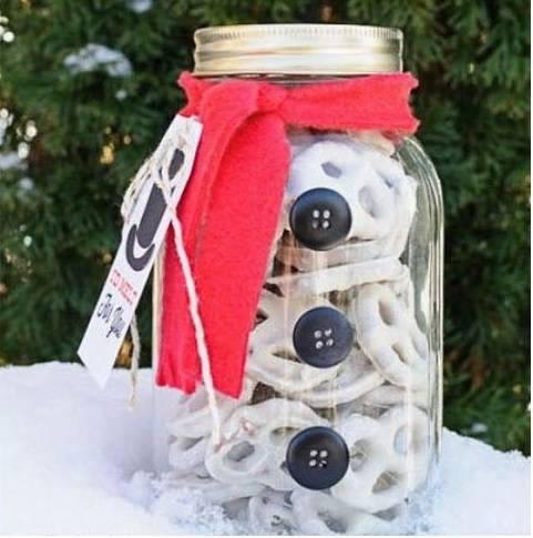 white candy Christmas souvenir