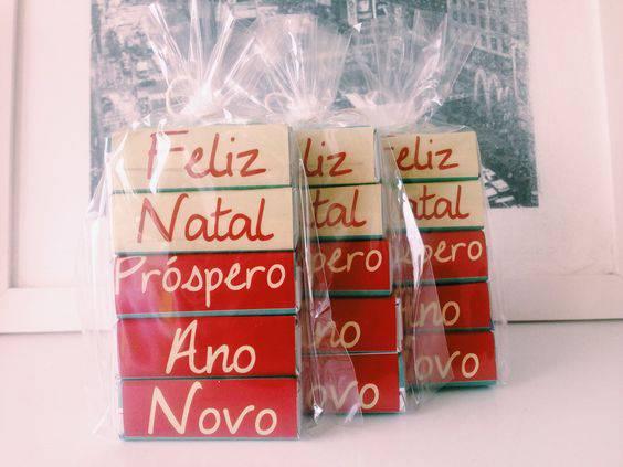 Christmas souvenir with a message