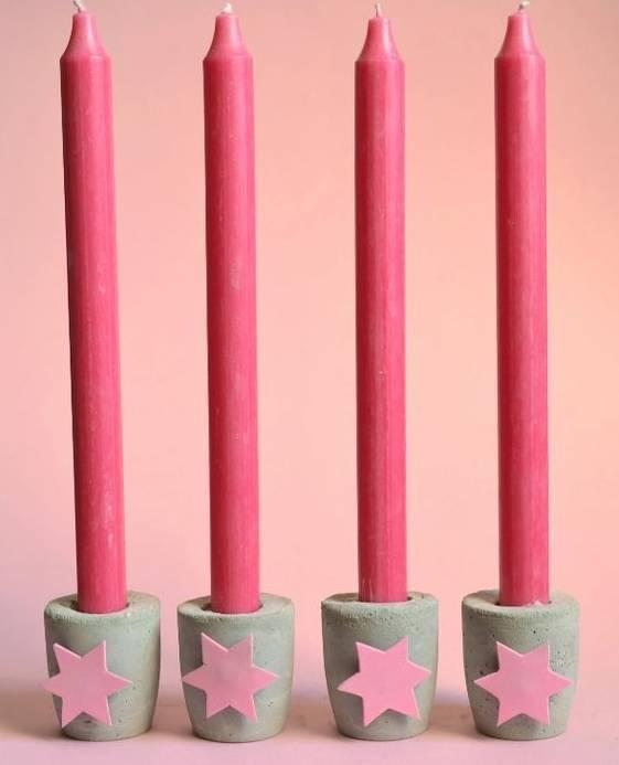 candle holder as a Christmas souvenir
