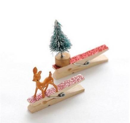 preacher decorated with reindeer as a Christmas souvenir