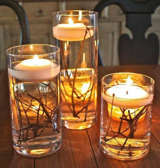 trunk candles as a Christmas souvenir