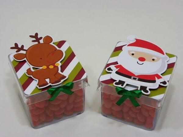 Personalized Christmas souvenir pot