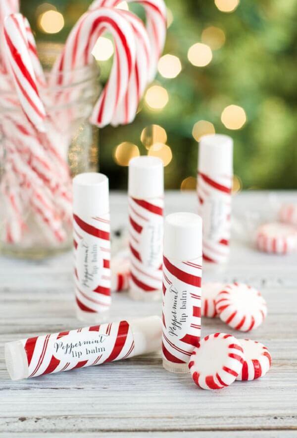 Lip gloss as a Christmas souvenir