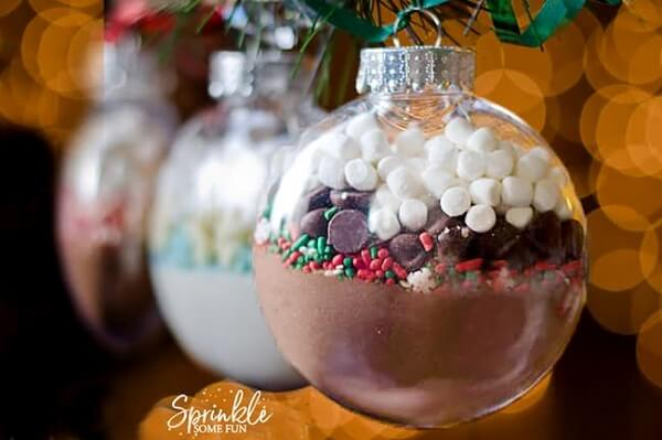 Christmas ball with special ingredients surprise the guests