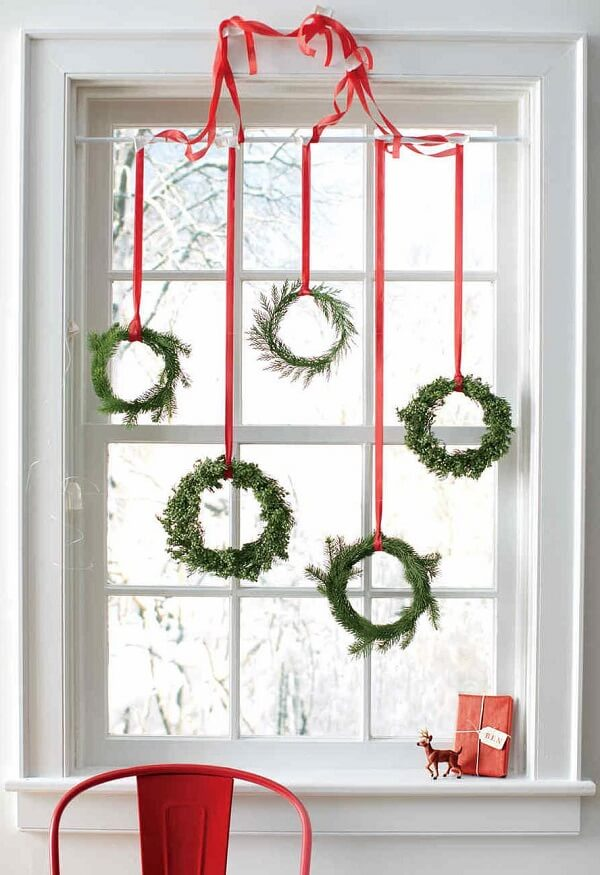 Christmas decorations that enchant the decor of the environment