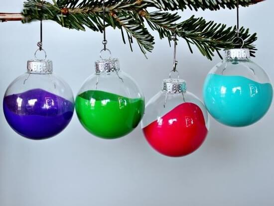 Christmas paintballs