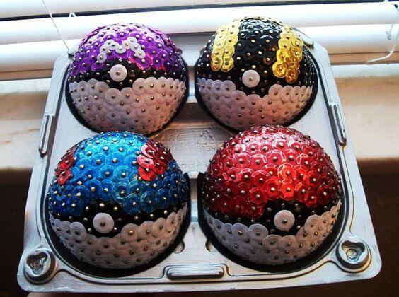 pokemon Christmas balls