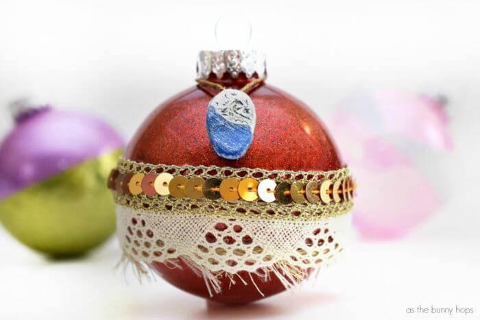 princess moana christmas balls