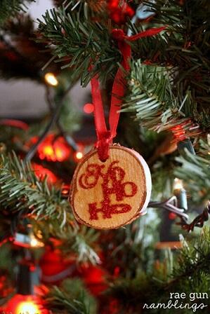 Wooden Christmas balls Photo by Rae Gun Ramblings