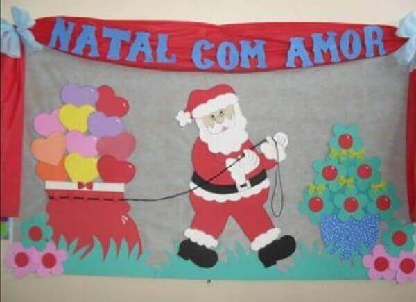 Christmas panel with EVA