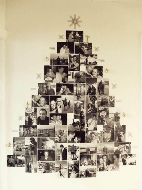 Decorative Christmas panel