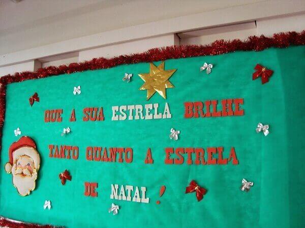 Christmas panel with sentence