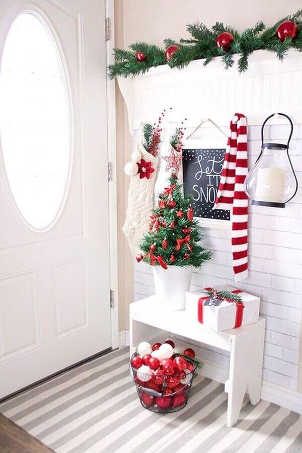 Christmas decorative tips for Foto Archidea entrance hall