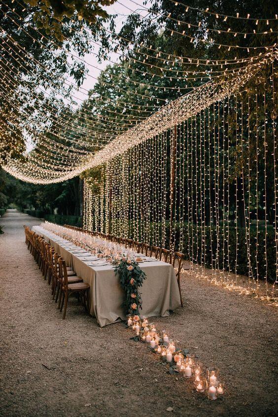 Illuminated New Year's Eve Supper Ideas