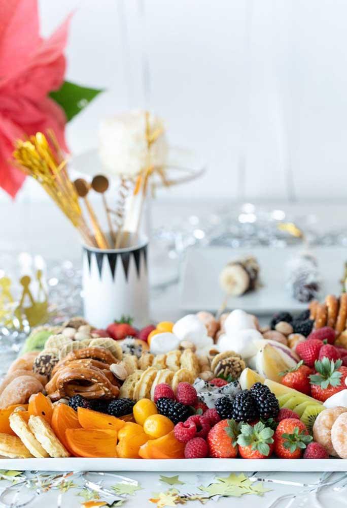 Fruits for reveillon supper