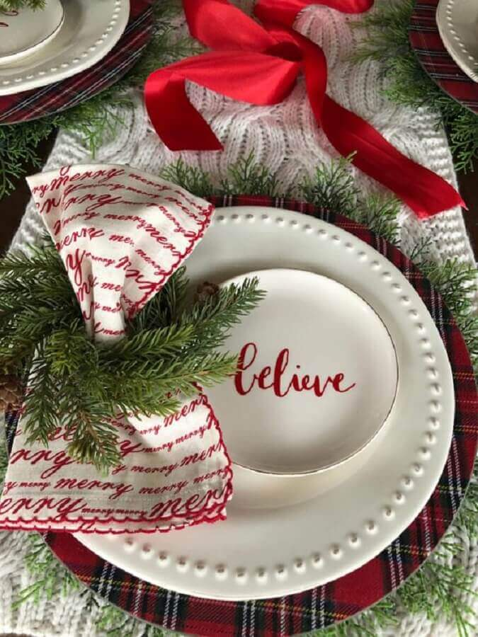 Christmas arrangement for table Photo Christmas Glitter