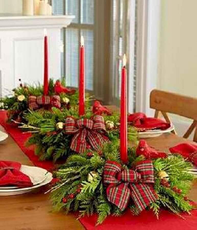 christmas arrangement for table Photo Pinterest