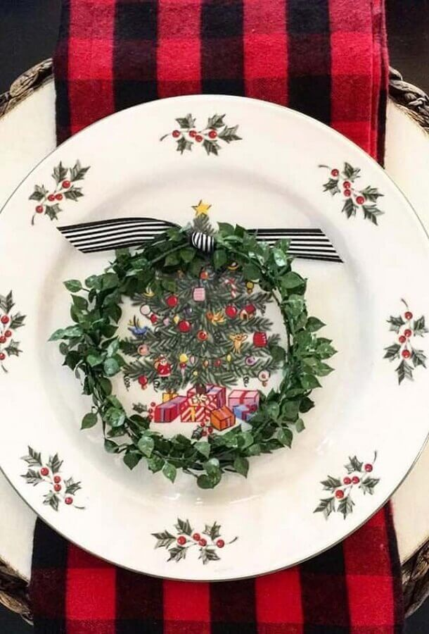Christmas table ornament Christmas Glitter Photo