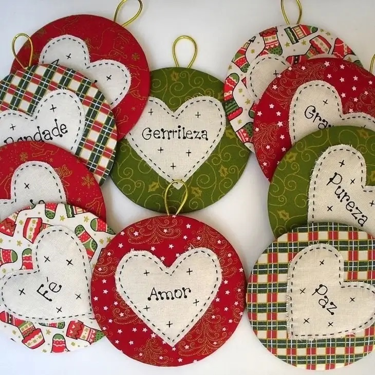 Christmas crafts filled with special messages