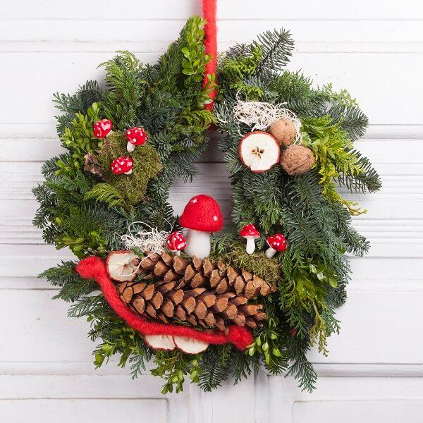 Charming Christmas wreath