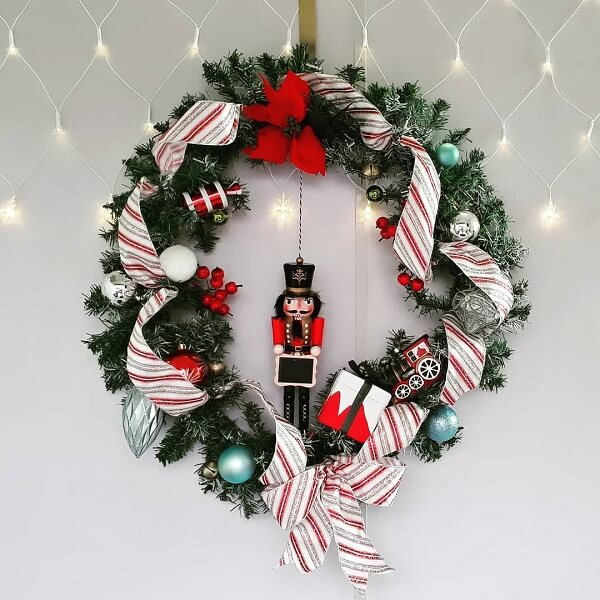 Christmas ornament with little soldier