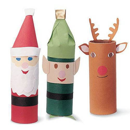 Christmas Craft paper easy-paper-