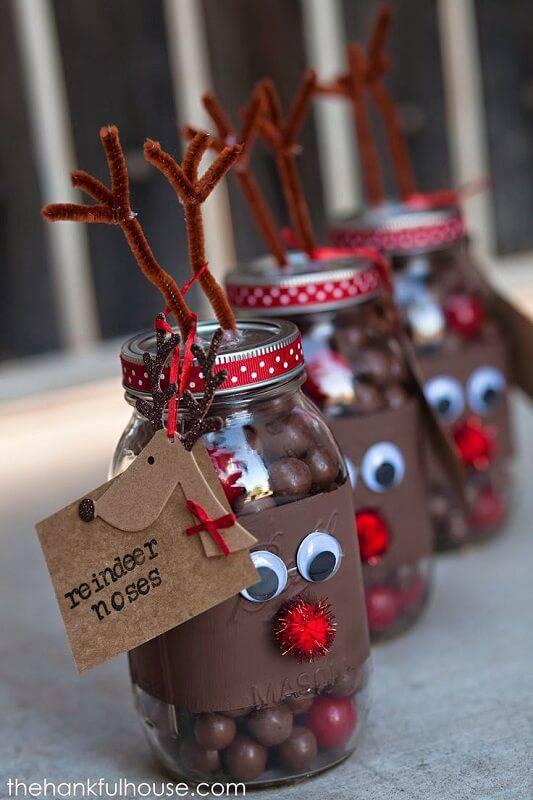 Christmas crafts reindeer-craft