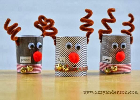 Christmas crafts reindeer