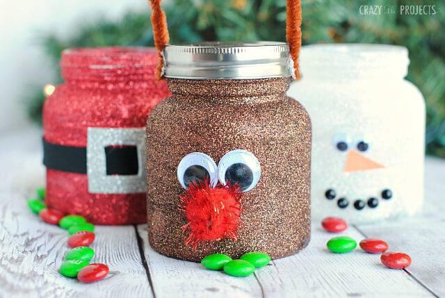 Christmas crafts Christmas pot