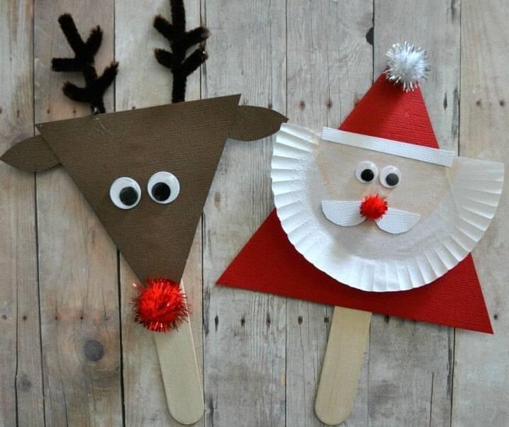 Christmas craft paper ornament christmas