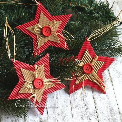 Cardboard_Christmas_Star Christmas Star Craft