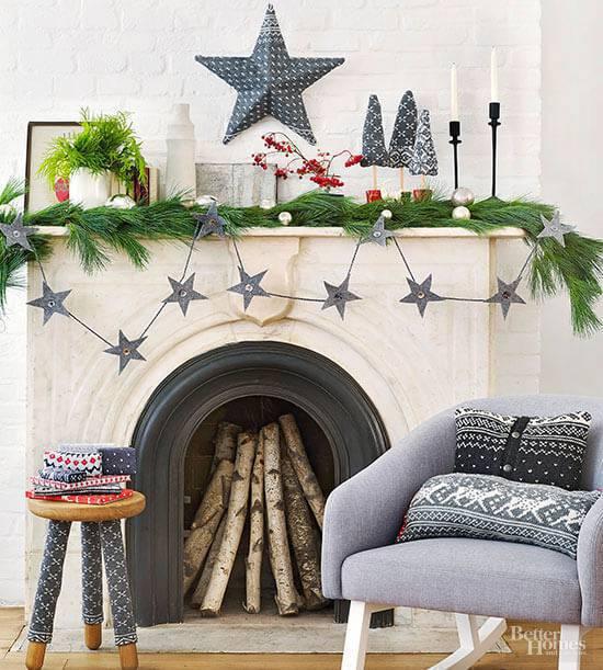 Christmas craft stars
