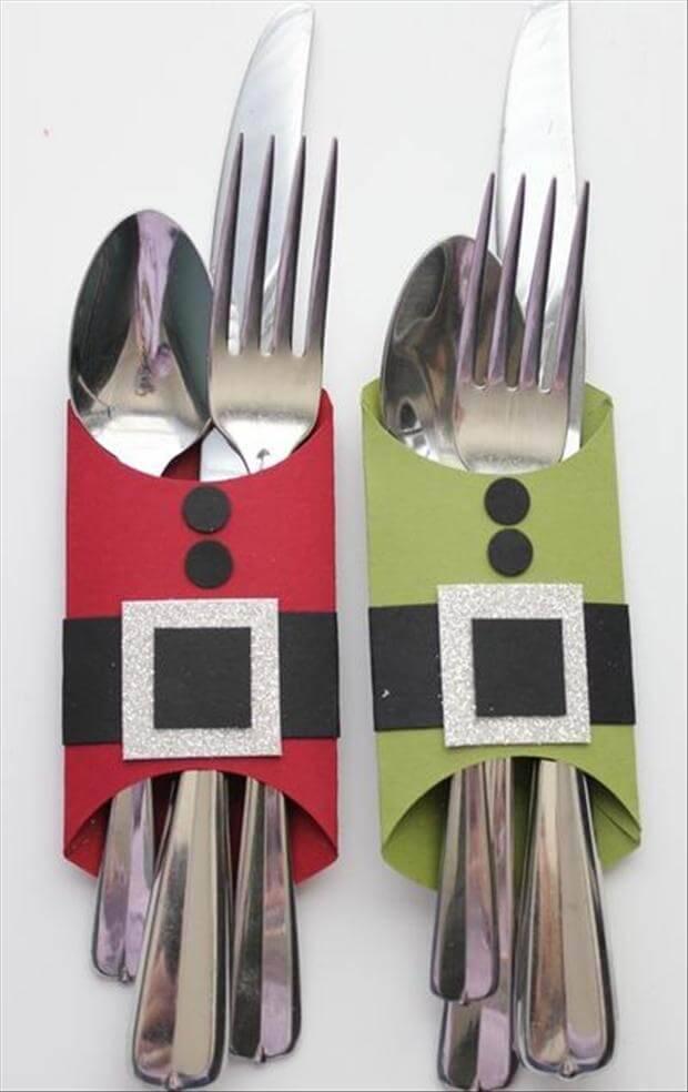Christmas crafts christmas fork christmas-craft
