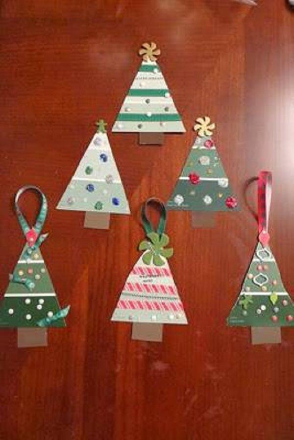 Handmade Christmas tree ornament crafts