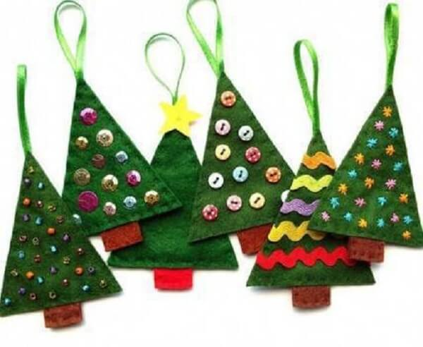 Handmade Christmas tree Christmas-craf