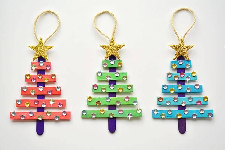 Christmas tree handicrafts toothpick