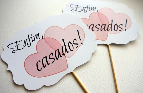 Paper Wedding Calligraphy For Party Time
