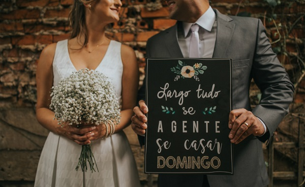 Creative wedding signs for the big day