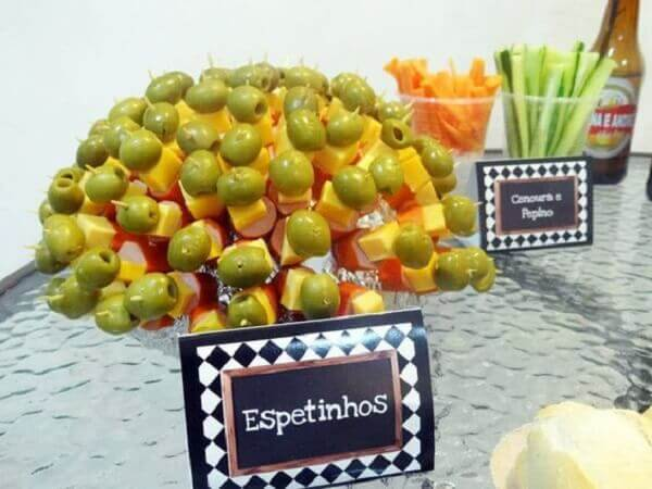 Party bar snacks