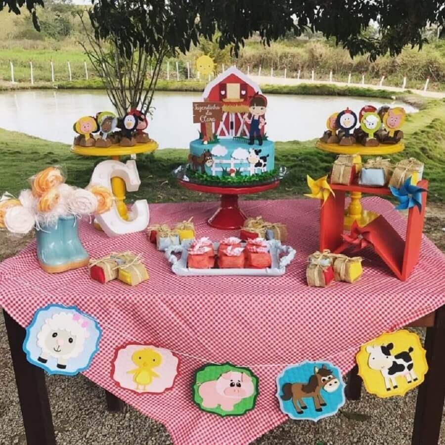 party fazendinha cheap ideas Foto Chicas Decore